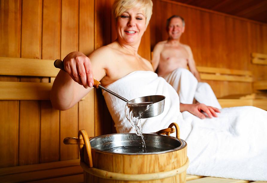 Landhotel Maiergschwendt, Sauna