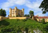 Best Western Panoramahotel Talhof in Wängle bei Reutte in Tirol, Schloss Hohenschwangau