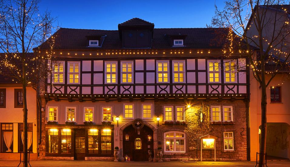Hotel Brauhaus Zum Löwen, Brauhaus am Abend