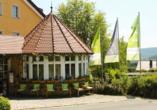 WAGNERS Hotel Schönblick in Fichtelberg, Außenansicht