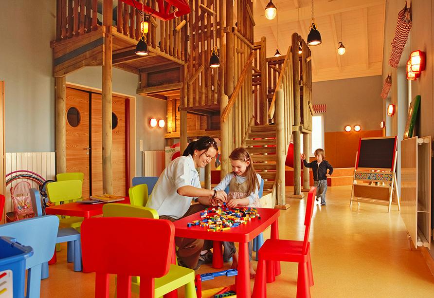 Dorfhotel Boltenhagen, Spielzimmer