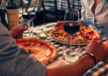 Sternenroute rund um Berlin, Potsdam und Havelland, Pizza und Wein