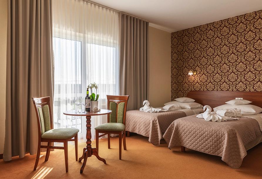 Hotel Bernstein in Dabki-Bobolin Ostsee Polen, Zimmerbeispiel Studio