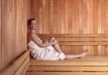 Naturhotel Wieserhof in Ritten in Südtirol, Sauna