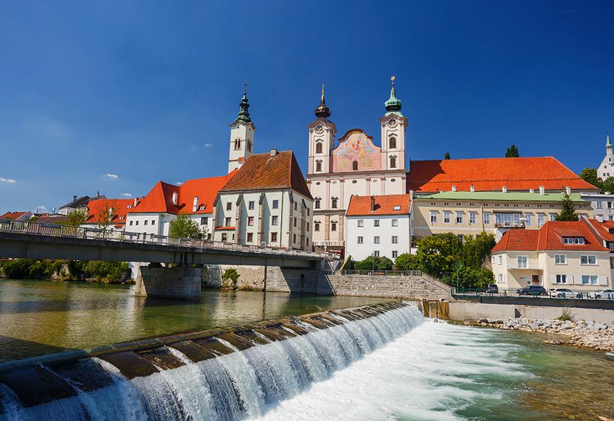 Donauradreise, Stadt Enns