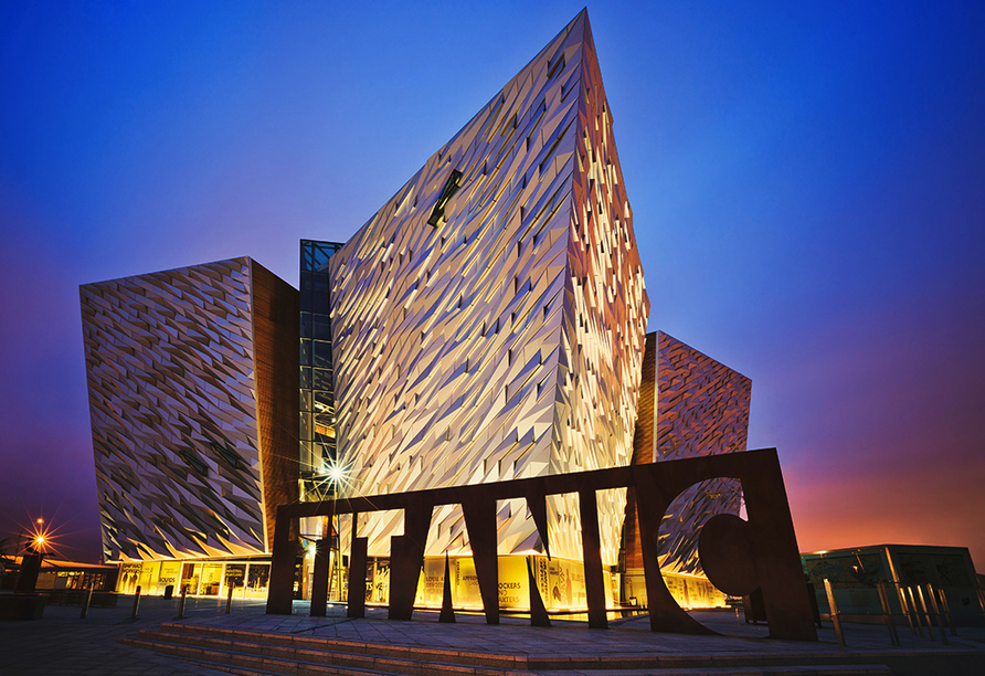 Costa Favolosa, Titanic Museum in Belfast