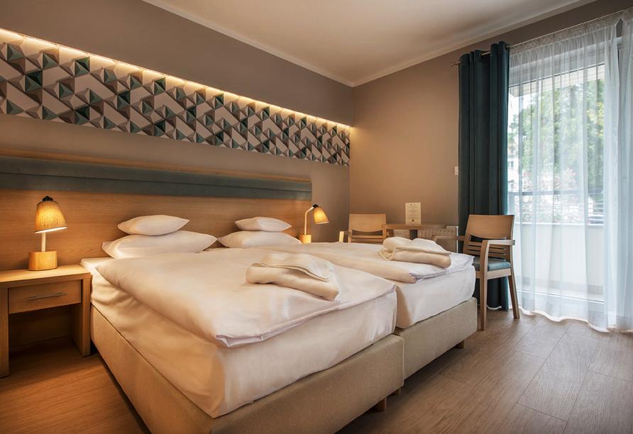 Kaiser's Garten Hotel in Swinemünde, Beispiel Appartement