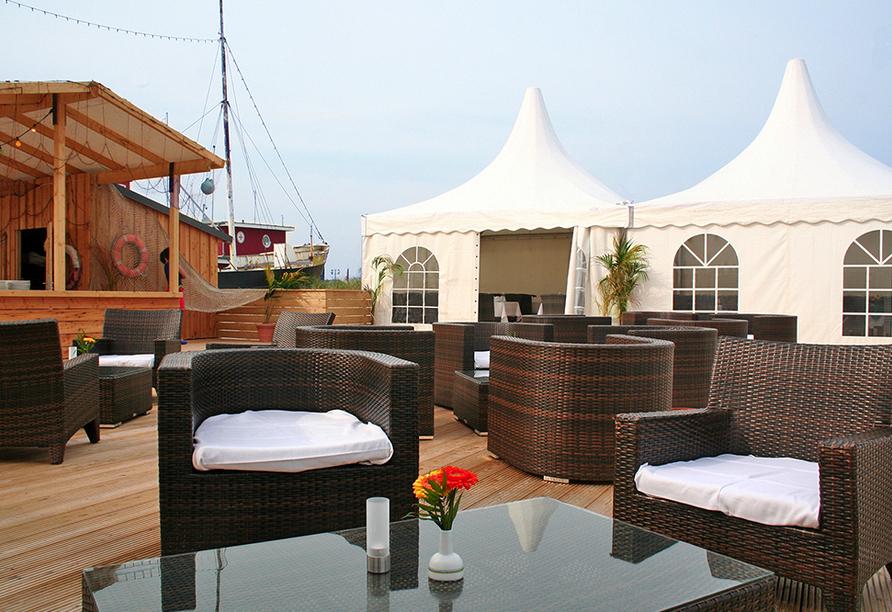 Ostsee Resort Damp, Strandterasse