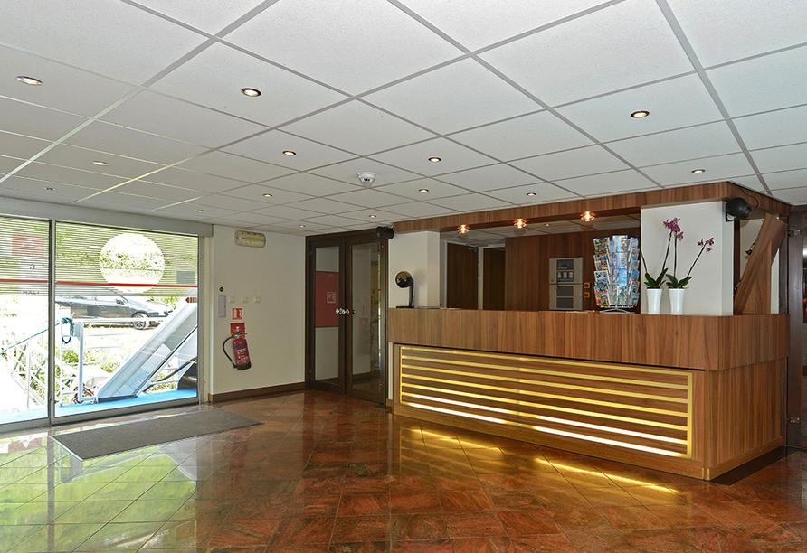 MS Normandie, Eingangsbereich