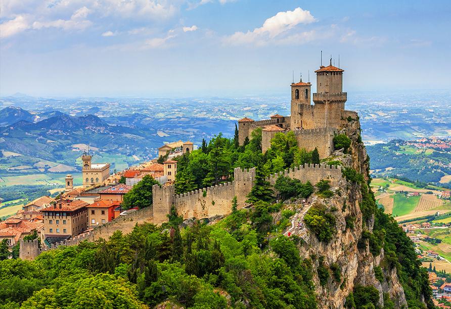 Hotel Camay in Cesenatico, Adria, Italien, San Marino