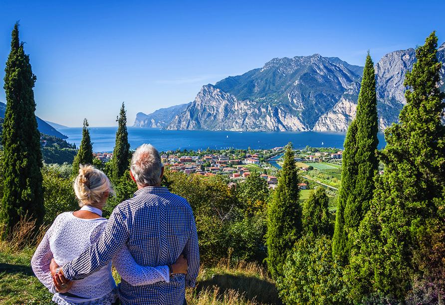 Residence Parco del Garda in Garda Italien, Paar