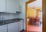 Residence Parco del Garda in Garda Italien, Küche