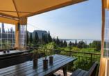 Residence Parco del Garda in Garda Italien, Terrasse