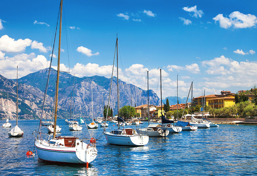 Residence Parco del Garda in Garda Italien, Gardasee