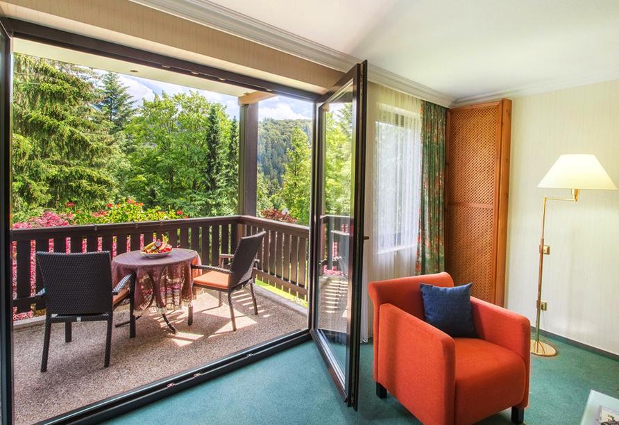 Romantik Hotel Stryckhaus, Beispiel Balkon Doppelzimmer Deluxe