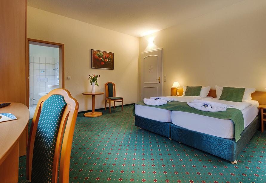 Ferien Hotel Villa Südharz, Beispiel Doppelzimmer