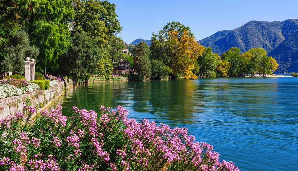 Norditalien und Schweiz, Lugano