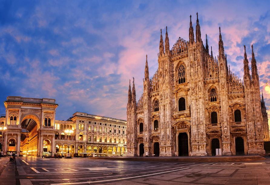 Norditalien und Schweiz, Mailand