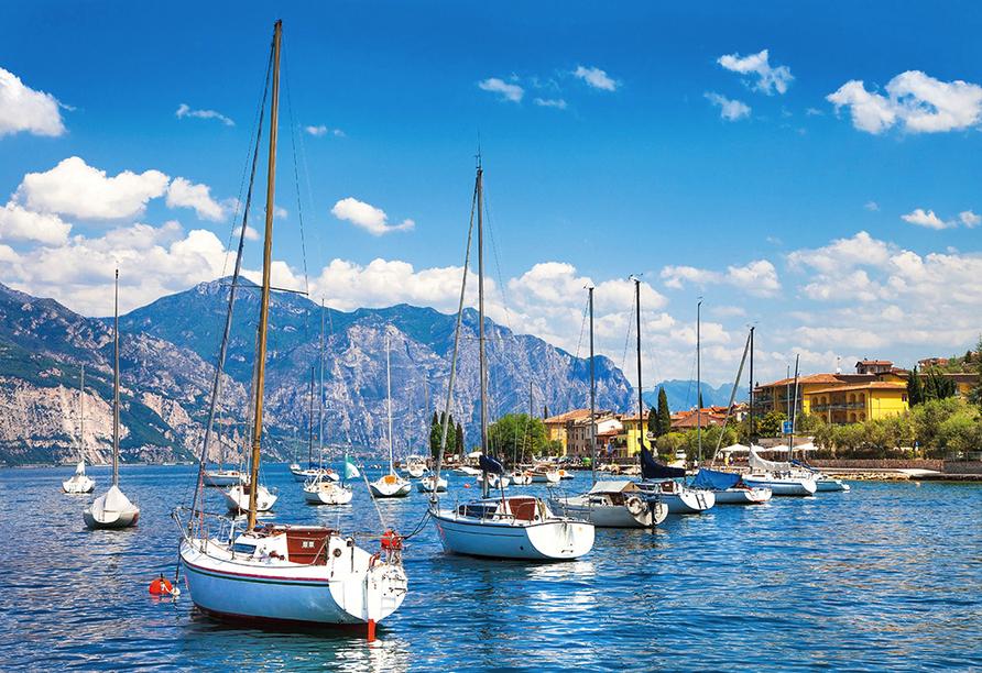 Norditalien und Schweiz, Gardasee