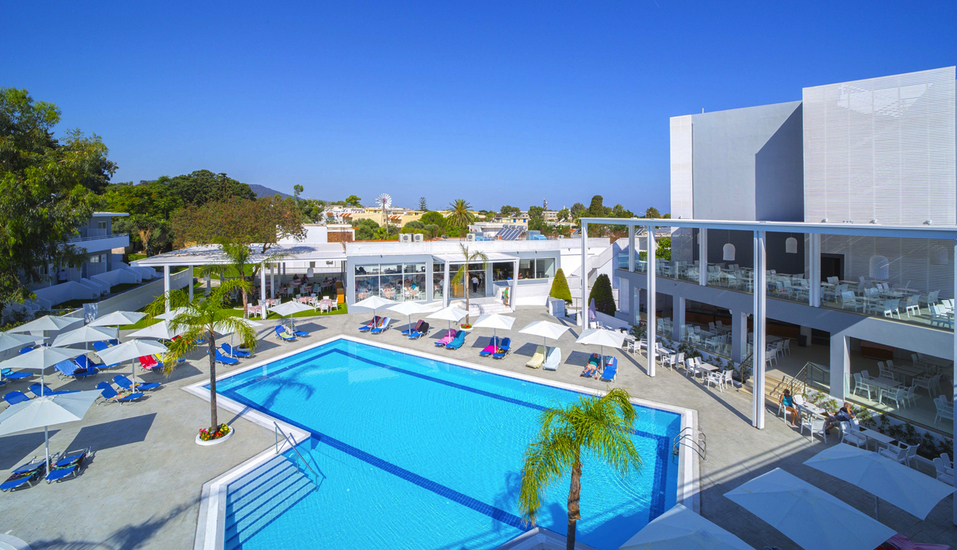 Hotel Oceanis Park in Ixia, Rhodos, Griechenland, Pool