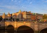 Rundreise Nordirland, Dublin Stadtansicht