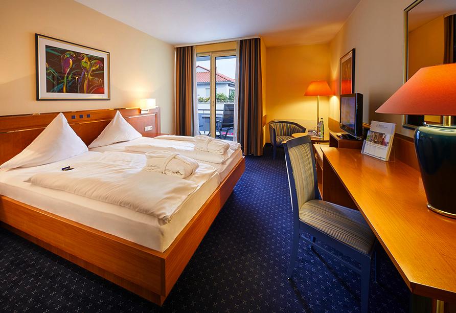 Göbel's Hotel Quellenhof, Zimmerbeispiel Komfort