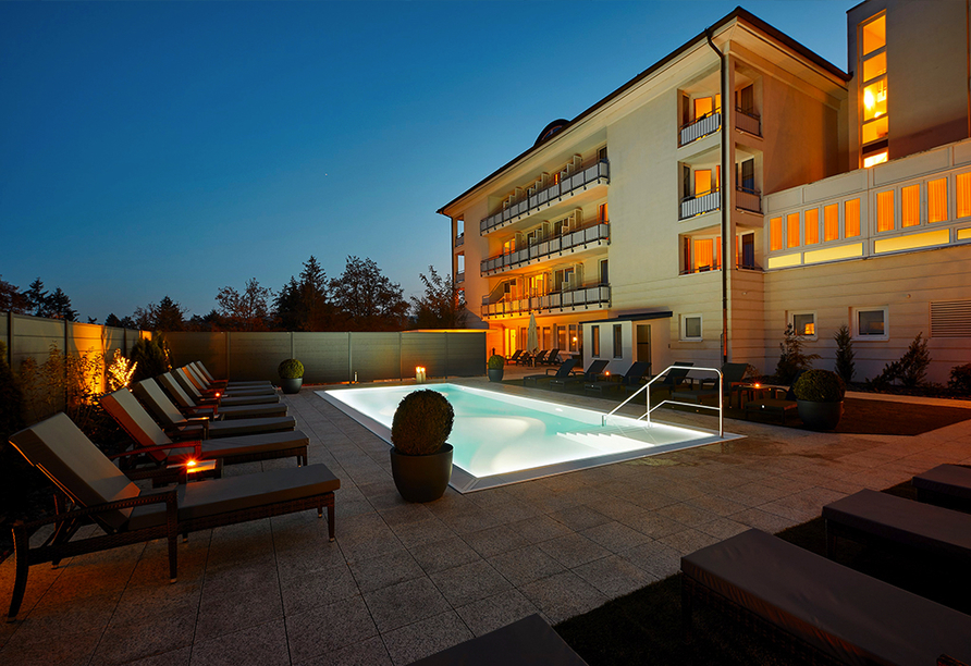 Göbel's Hotel Quellenhof, Außenpool
