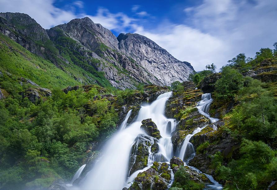 Costa Favolosa, Wasserfall