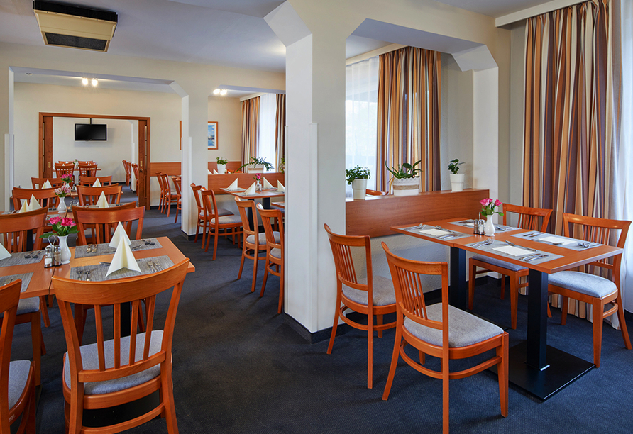 Spa Hotel Devin in Marienbad, Böhmisches Bäderdreieck, Tschechien, Restaurant