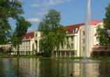 Hotel Thermalis in Bad Hersfeld, Außenansicht