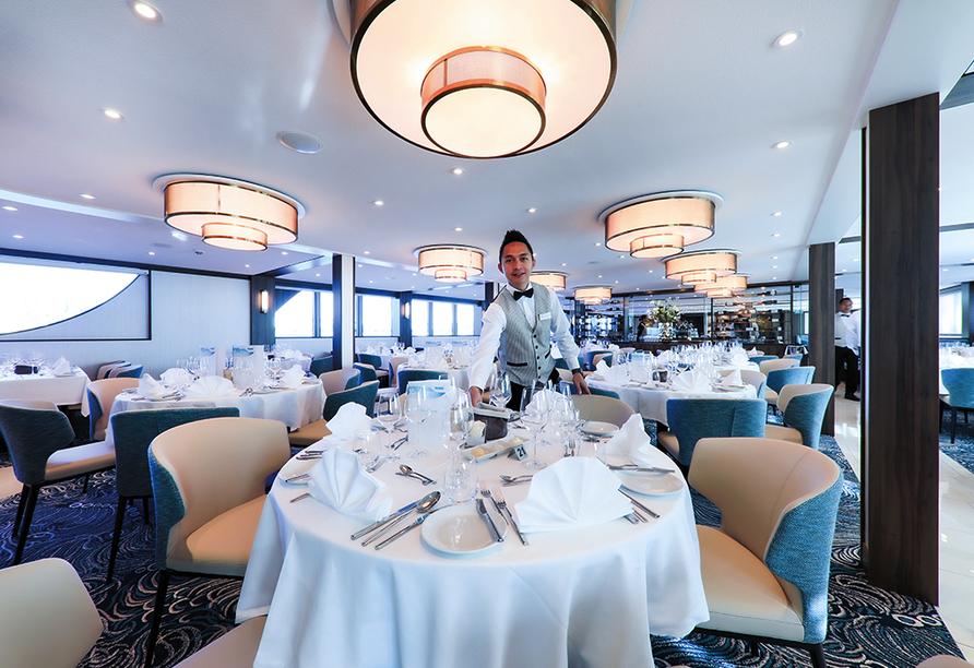MS Annika, Panorama-Restaurant