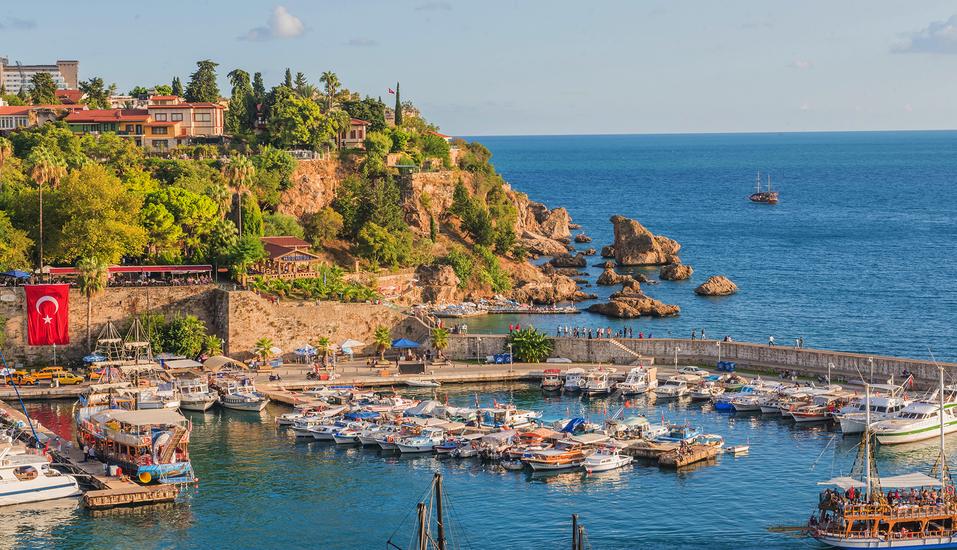 Hotel Titan Garden in Alanya, Hafen in Antalya