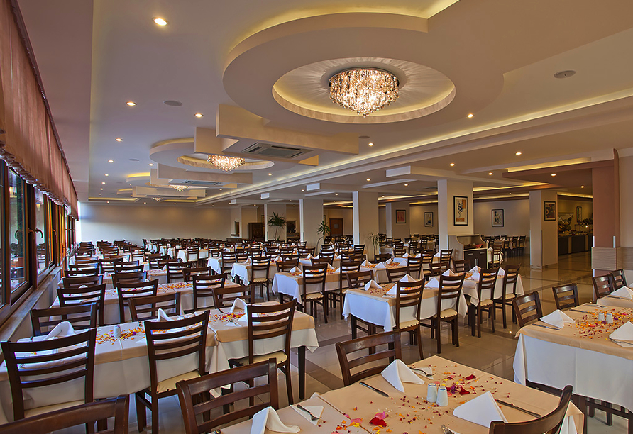 Hotel Titan Garden in Alanya, Restaurant