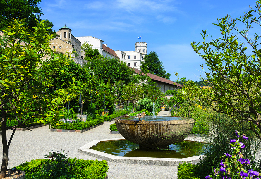 Altmühltal Panoramaweg, Botanischer Garten in Eichstätt