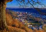 Altmühltal Panoramaweg, Blick auf Eichstätt