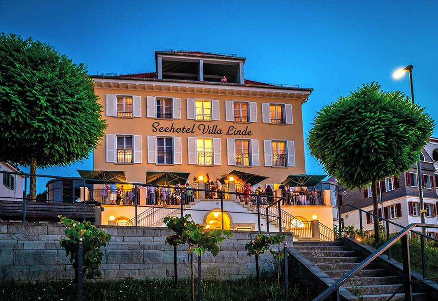 Seehotel Villa Linde in Bodman, Bodensee, Außenansicht