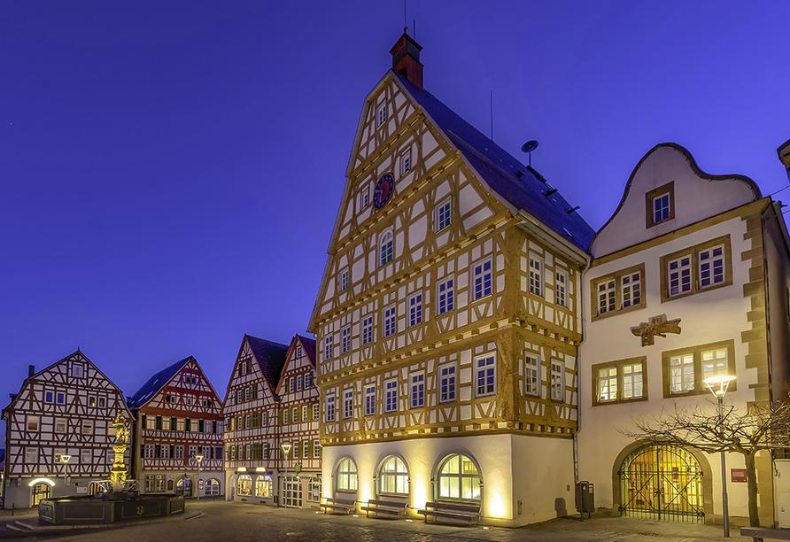 Hotel Krone in Gerlingen, Altstadt Leonberg