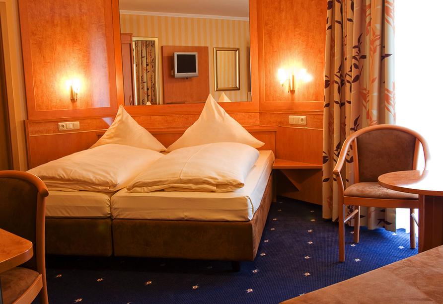 Moselstern Hotel Brixiade & Triton in Cochem, Zimmerbeispiel