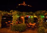 Moselstern Hotel Brixiade & Triton in Cochem, Terrasse