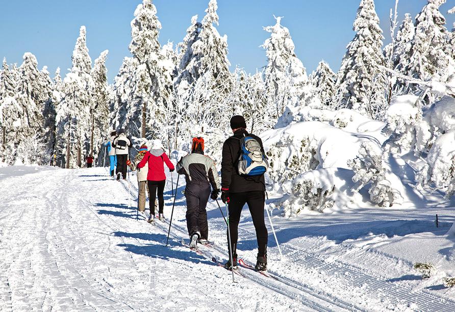 Spa Hotel Devin in Marienbad, Tschechien, Skilanglauf