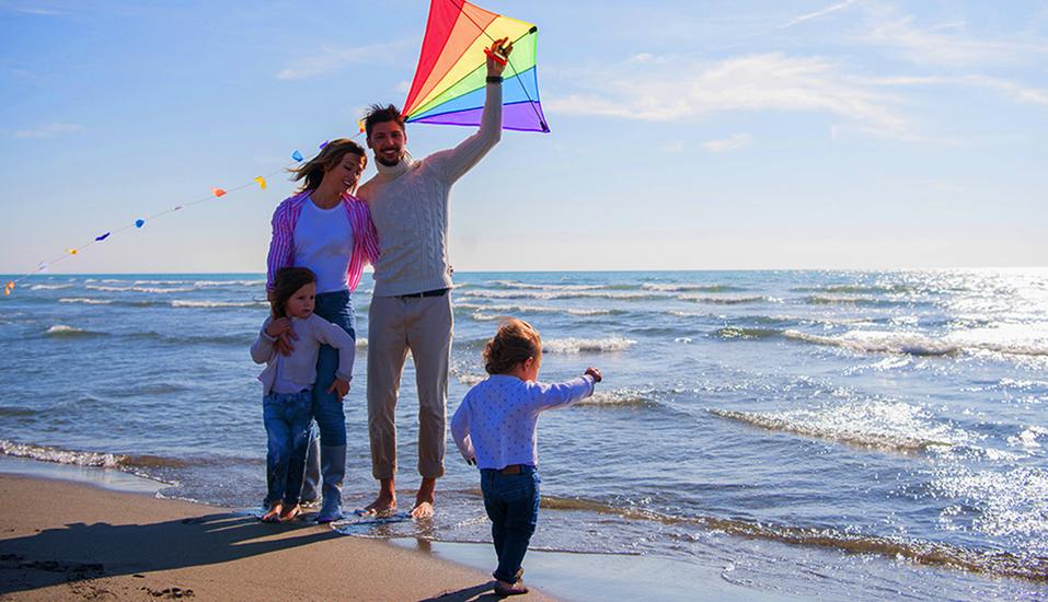 Roompot Vakanties Strandpark Duynhille, Auszeit mit der Familie