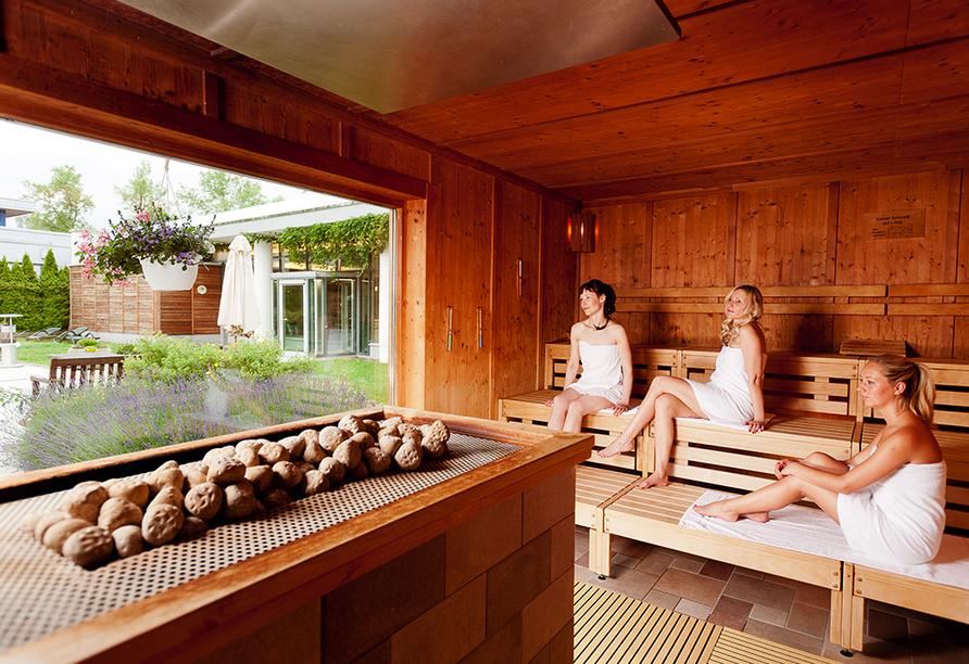 Hotel am Vitalpark, Sauna