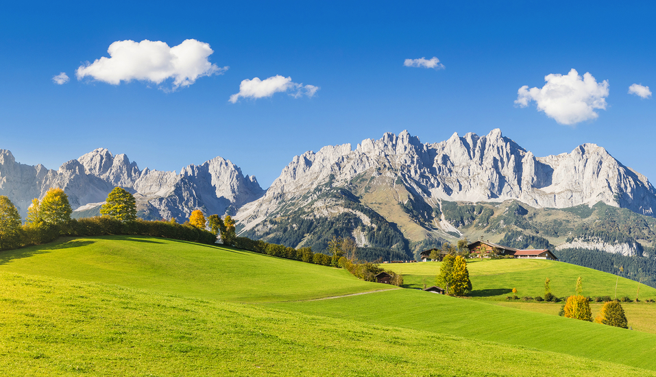Hotel Gradlwirt in Niederndorf, Tirol, Österreich, Wilder Kaiser