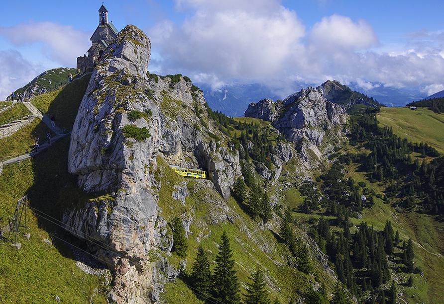 Hotel Gradlwirt in Niederndorf, Tirol, Österreich, Zahnradbahn Wendelstein