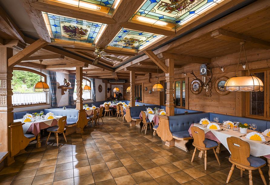 Hotel Gradlwirt in Niederndorf, Tirol, Österreich, Restaurant