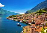 Rundreise Oberitalienische Seen, Limone Sul Garda