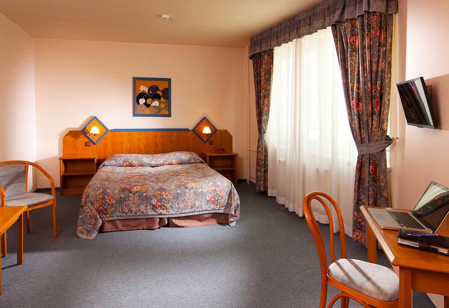 Hotel Concertino – Zlatá Husa, Südböhmen, Tschechien, Zimmerbeispiel
