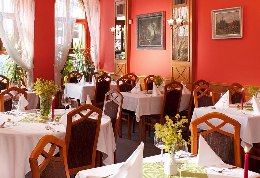 Hotel Concertino – Zlatá Husa, Südböhmen, Tschechien, Restaurant