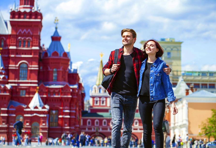 Kurzreise Russland, Sightseeing