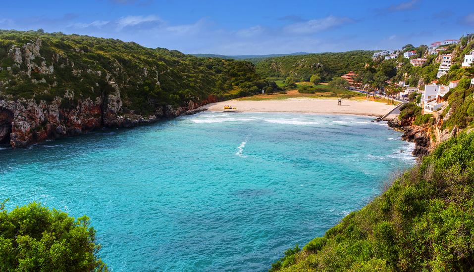 Hotel Playa Azul, Cala'n Porter, Menorca, Strand